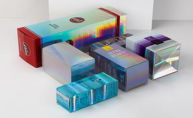 Holographic Skin Care Packaging
